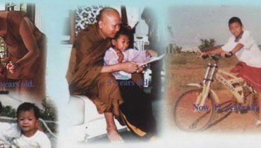 A story on kids home and Wat Phrabatnampu
