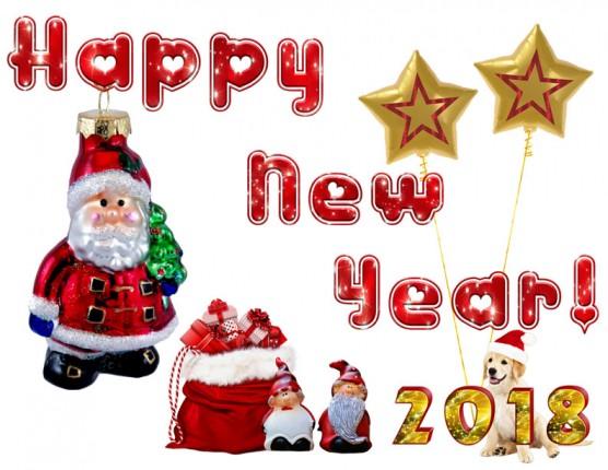 PSD PNG สวัสดีปีใหม่